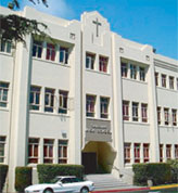 Salesian High School exterior