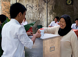 Indonesian voting