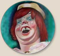 Playland clown